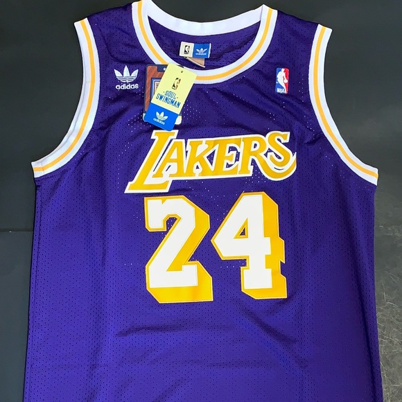 on sale 3ac32 9ac11 Kobe Bryant Lakers Throwback Jersey #24 NWT